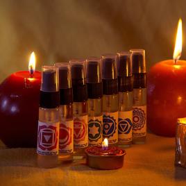 Kit de aceites para Chakras (7 unidades)